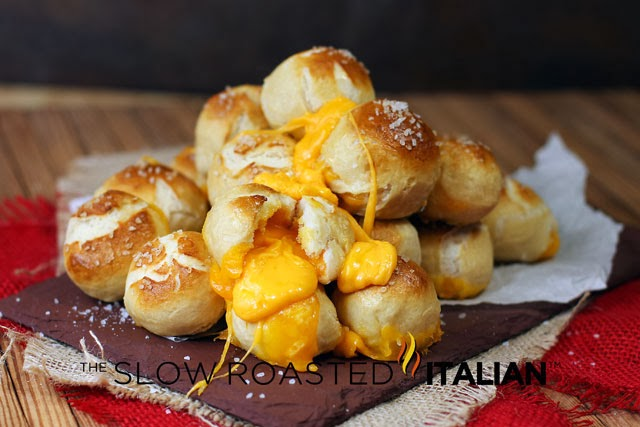 http://www.theslowroasteditalian.com/2013/09/outrageously-cheesy-stuffed-pretzel-bombs-recipe.html