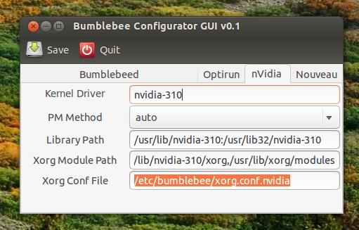 Set Up Bumblebee With Bumblebee Configurator GUI [Nvidia Optimus