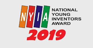 ialah ajang kompetisi bagi cukup umur dalam melaksanakan penemuan dan invensi di bidang teknolog LOMBA NATIONAL YOUNG INVENTORS AWARD (NYIA) LIPI TAHUN 2019
