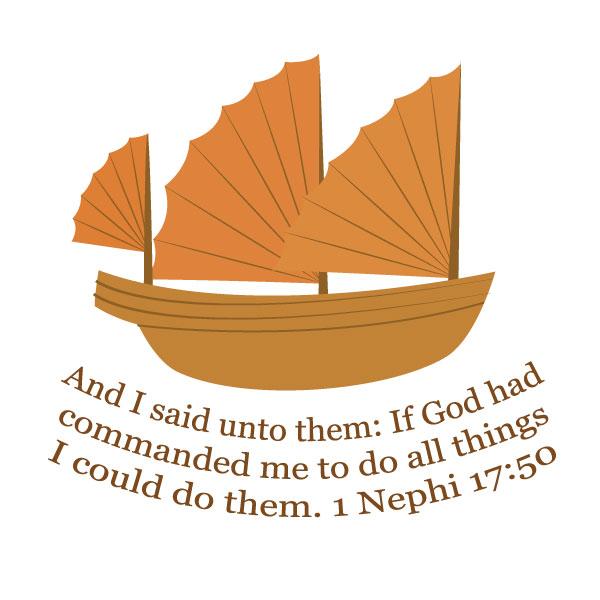 Nephi Builds a Ship Free Printable Handout