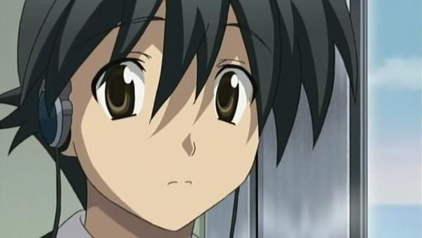 Makoto (School Days) - Karakter anime yang mati dengan kepala putus