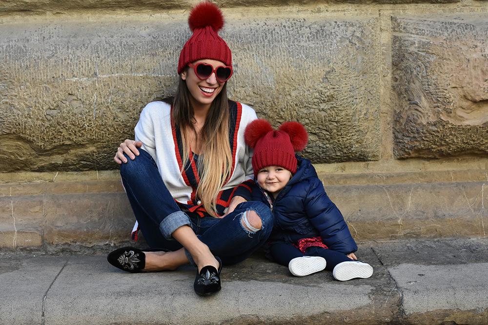 outfit coordinato mamma figlia