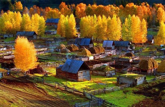 Du lịch Trung Quốc vào mùa thu nên ghé thăm những ngôi làng cổ đẹp mê hồn