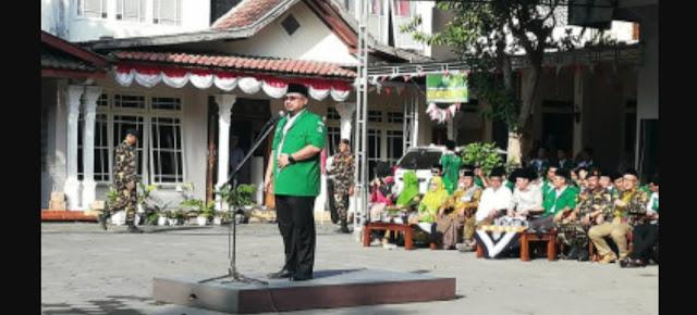 Ketua GP Ansor: Kita Buktikan Kepada Dunia Kejayaan Merah Putih Tidak Pernah Bisa Diganggu