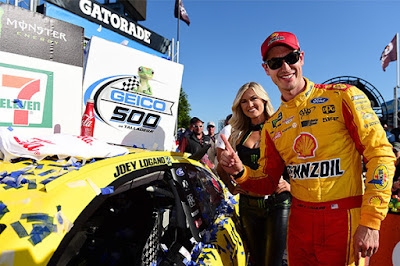 Logano & Ford In Victory Lane At Talladega!  #NASCAR