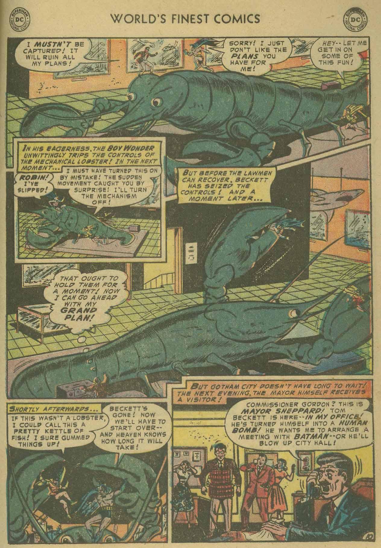 Read online World's Finest Comics comic -  Issue #69 - 63