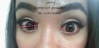 Powder as Concealer