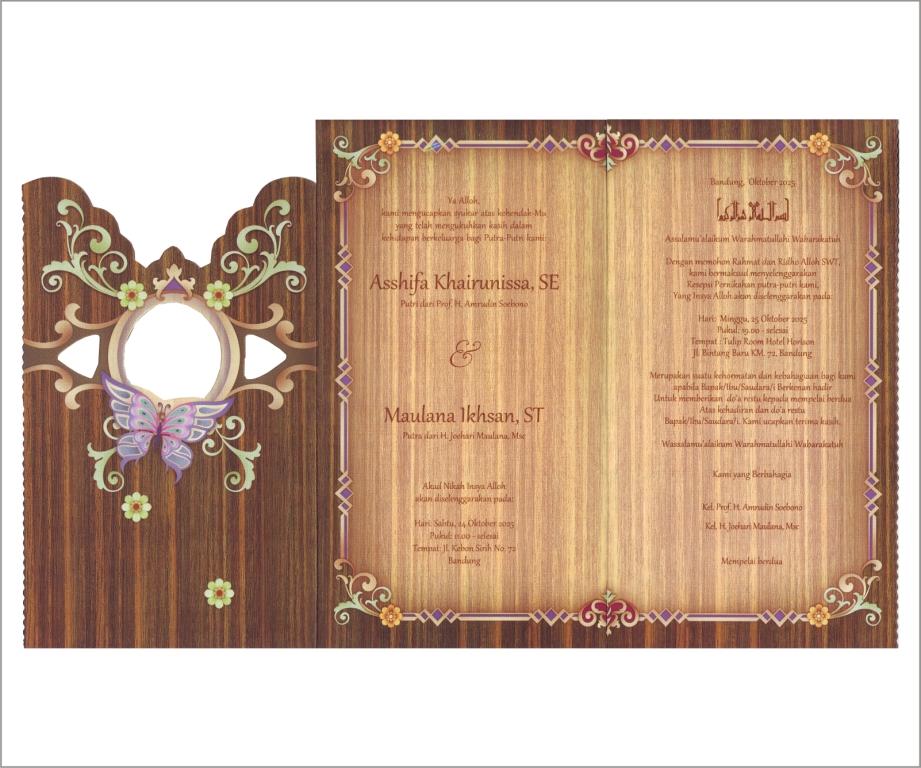 Kartu undangan Java Heritage 06