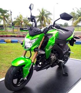 Kawasaki Z125 Pro terbaru 2016 Indonesia