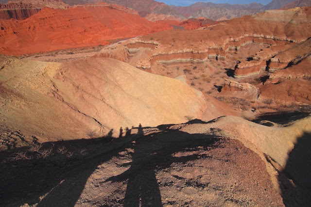 Strata Sediments in Salta, Argentina