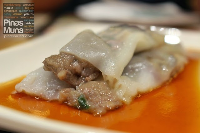 Tim Ho Wan Megamall Vermicelli Roll with Pig's Liver