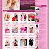 Template Toko Online Blogspot Girly Store Responsive