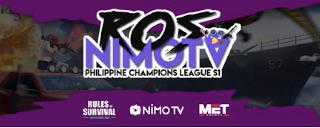15 Squads to Clash for the Final Round of the Biggest Rules of Survival Tournament in the Philippines Hosted by Nimo TV