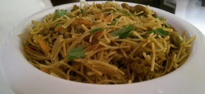Vermicelli Mince Meat Briyani/Sevai Keema Briyani