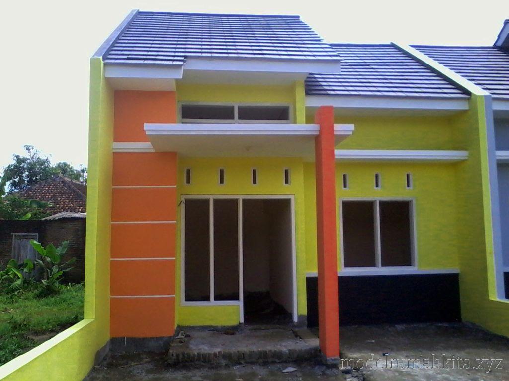 Kombinasi Warna  Cat  Rumah  Kuning Kumpulan Desain Rumah