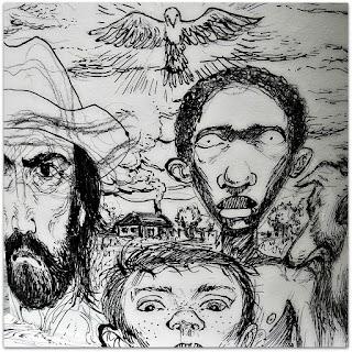 'Negrinho do Pastoreio' - Mateus Conter, Mostra Simões Lopes Neto, Santander Cultural