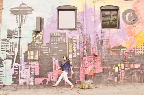most instagrammable places in seattle belltown mural