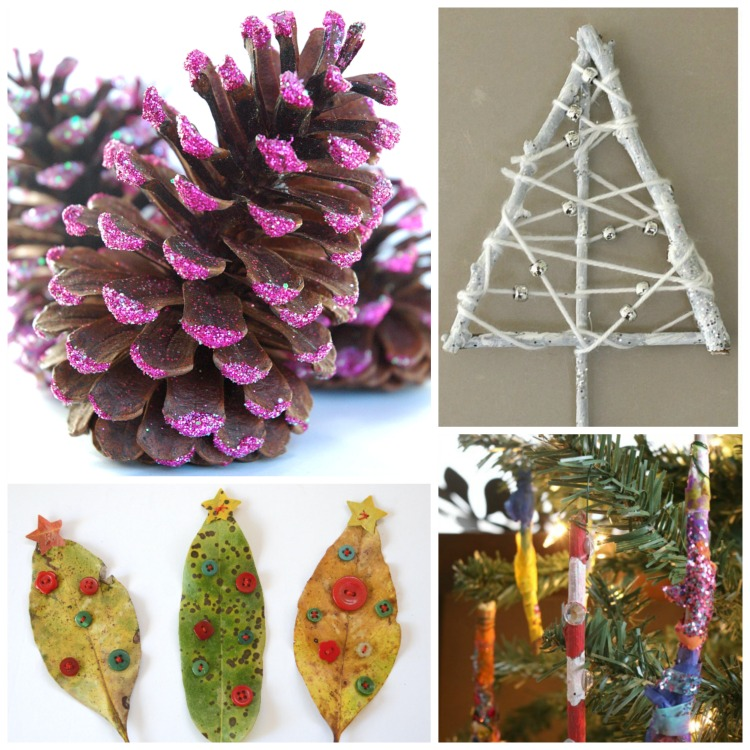 Christmas nature crafts for kids what can we do with for Nature crafts for kids