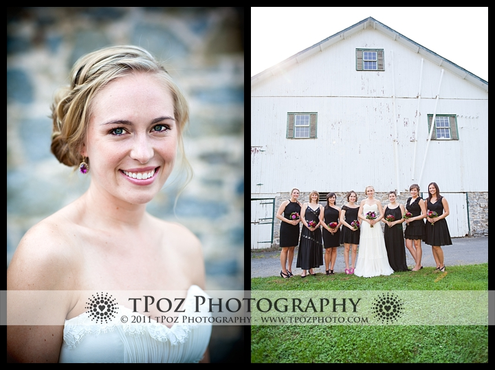 Yellow Barn at Landis Valley Museum Wedding Bridal Party