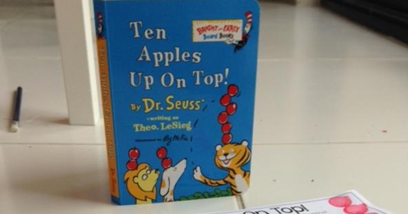 Classroom Freebies Ten Apples Up On Top Number Words