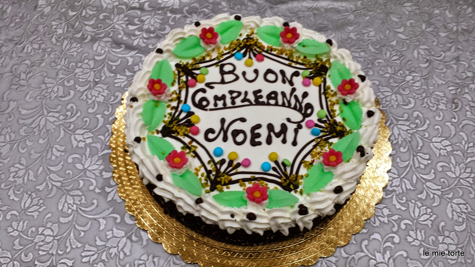 Torta Compleanno Noemi.Passione Torte
