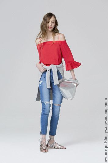 Blusas de mujer verano 2017 ropa de moda mujer.