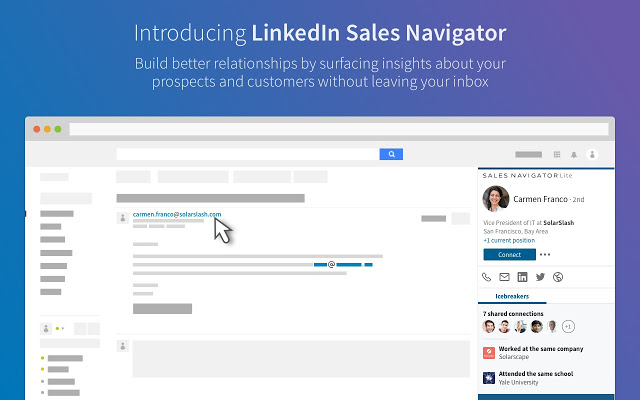 LinkedIn Sales Navigator - Chrome Web Store - Google Chrome to find social media accounts by phone number free