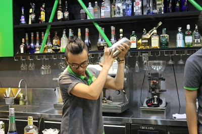 một lớp Bartender tại Sài Gòn