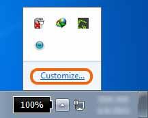 memperbaiki ikon baterai yang hilang di taskbar 2