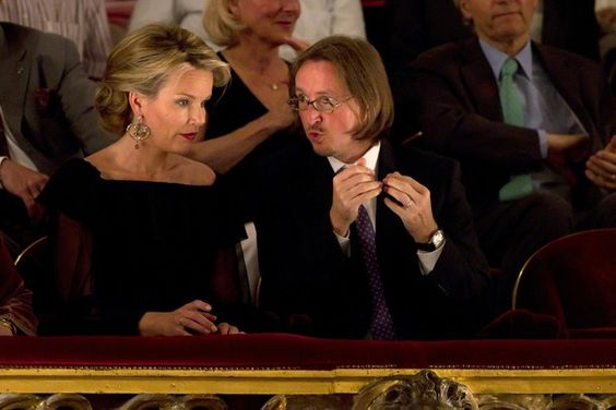 Crown Princess Mathilde attended the opera 'Cosi Fan Tutte', directed by Michael Haneke