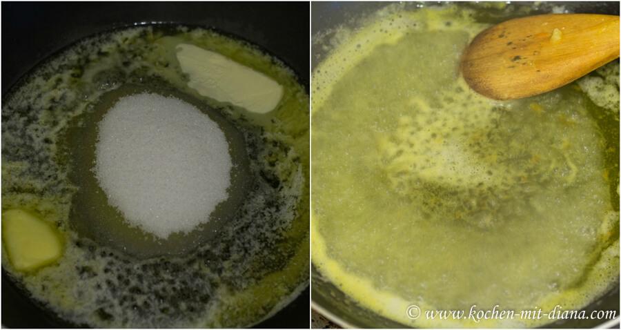 Sauce fuer Crêpes Suzette