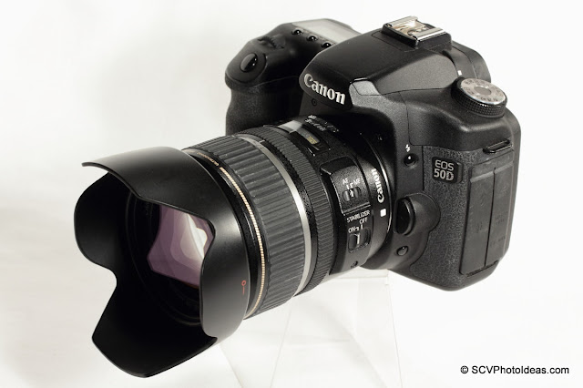 Canon EOS 50D Digital Camera with EF-S 17-85 IS USM lens installed