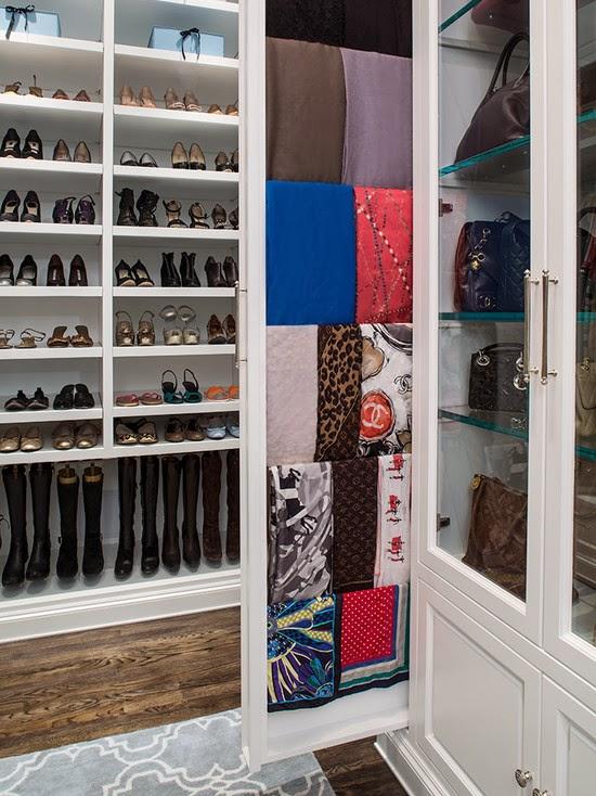 Hogares frescos 40 ideas para dise ar tu closet y - Disenar un armario empotrado ...