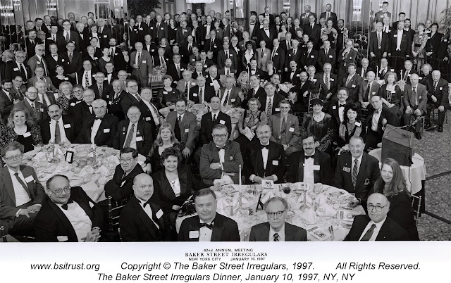 The 1997 BSI Dinner group photo