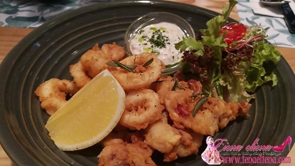 Salt & Pepper Squid Delicious Cafe