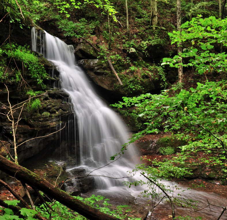Backpacking West Virginia: Discover West Virginia: Hiking The Waterfalls Of Big Branch