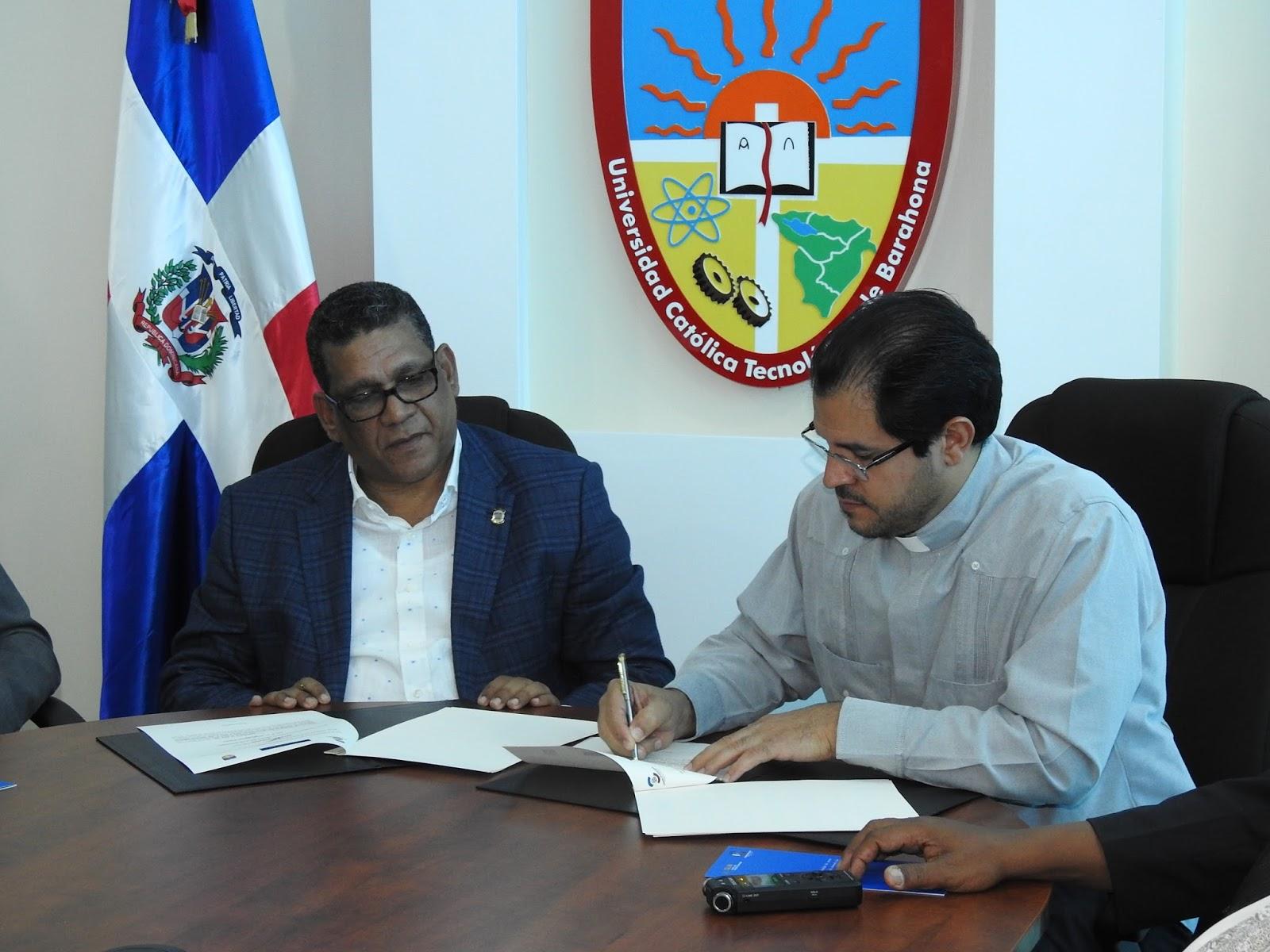 UCATEBA y la Cámara de Diputados firman acuerdo