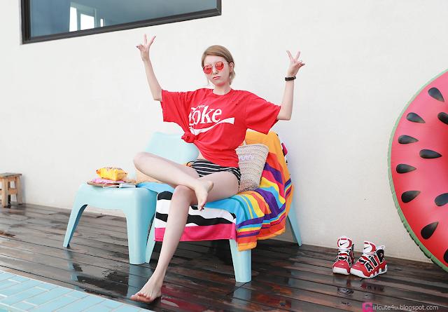 Shin So Jung - Bikini Set - very cute asian girl - girlcute4u.blogspot.com (3)