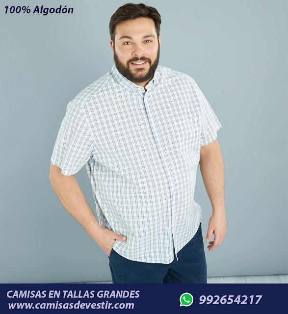 Camisas tallas grandes Trujillo