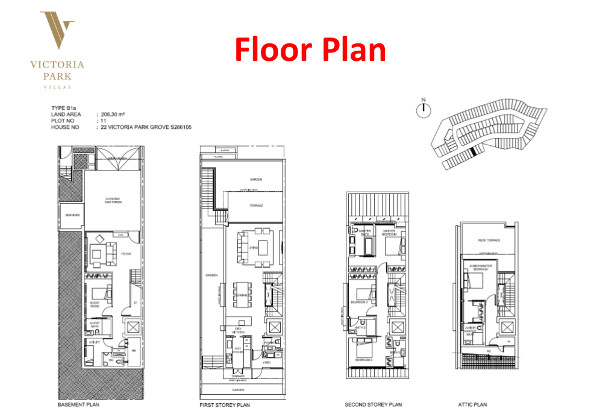 Victoria Park Villas Floor Plan Type B1