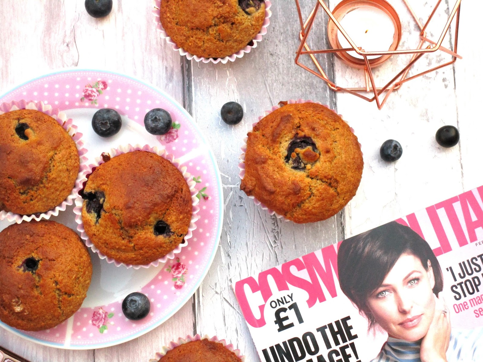 how to make healthy blueberry muffins