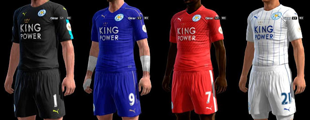 PES 2013 Leicester City Kit  2016/17