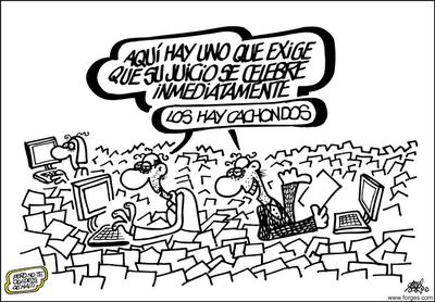 A vuelapluma. Una nueva Justicia para la sociedad española