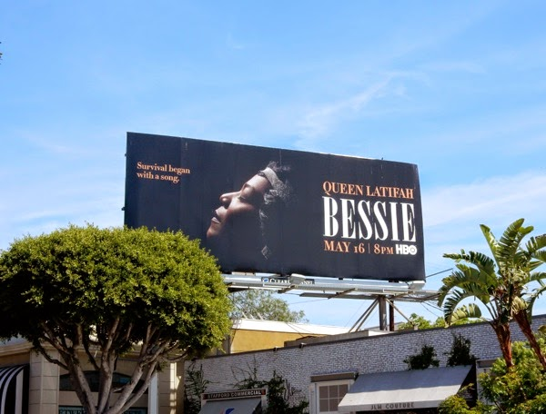 Bessie HBO billboard