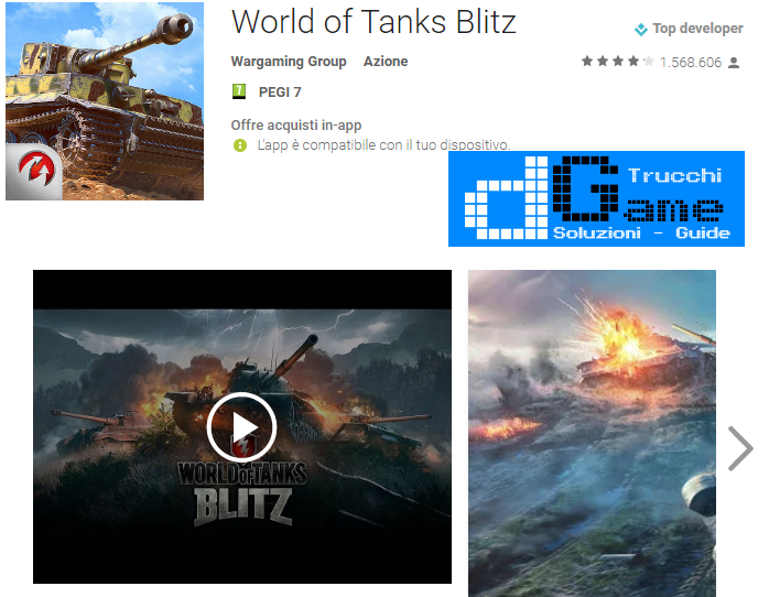 Trucchi World of Tanks Blitz Mod Apk Android v3.6.0.492