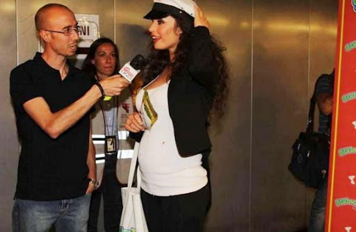 Mario Balotelli's ex-girlfriend Raffaella Fico shows off her baby bump