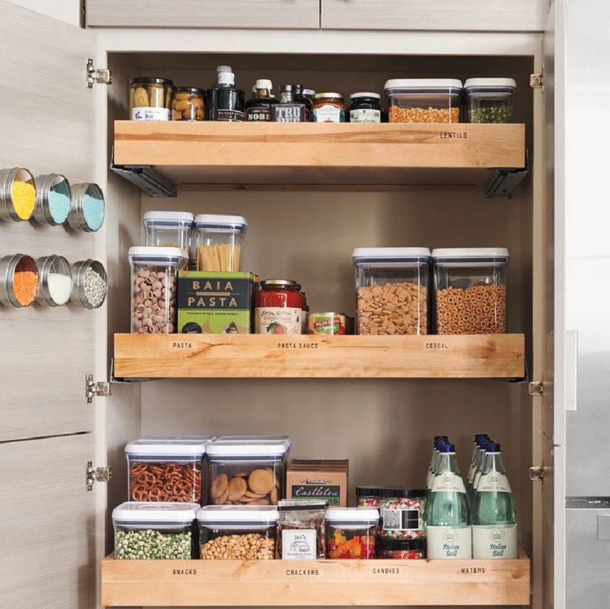 9 Tips For A Perfectly Organized Pantry: 9 Genius Pantry Organization Tips & Hacks For Your Kitchen