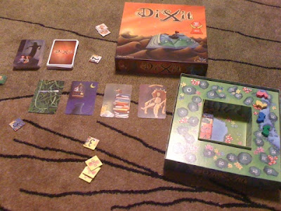 Dixit game in play