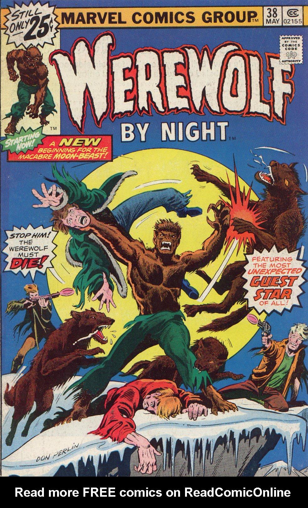 Werewolf by Night (1972) issue 38 - Page 1
