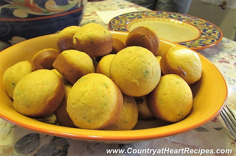 Country At Heart Recipes Baked Hush Puppies